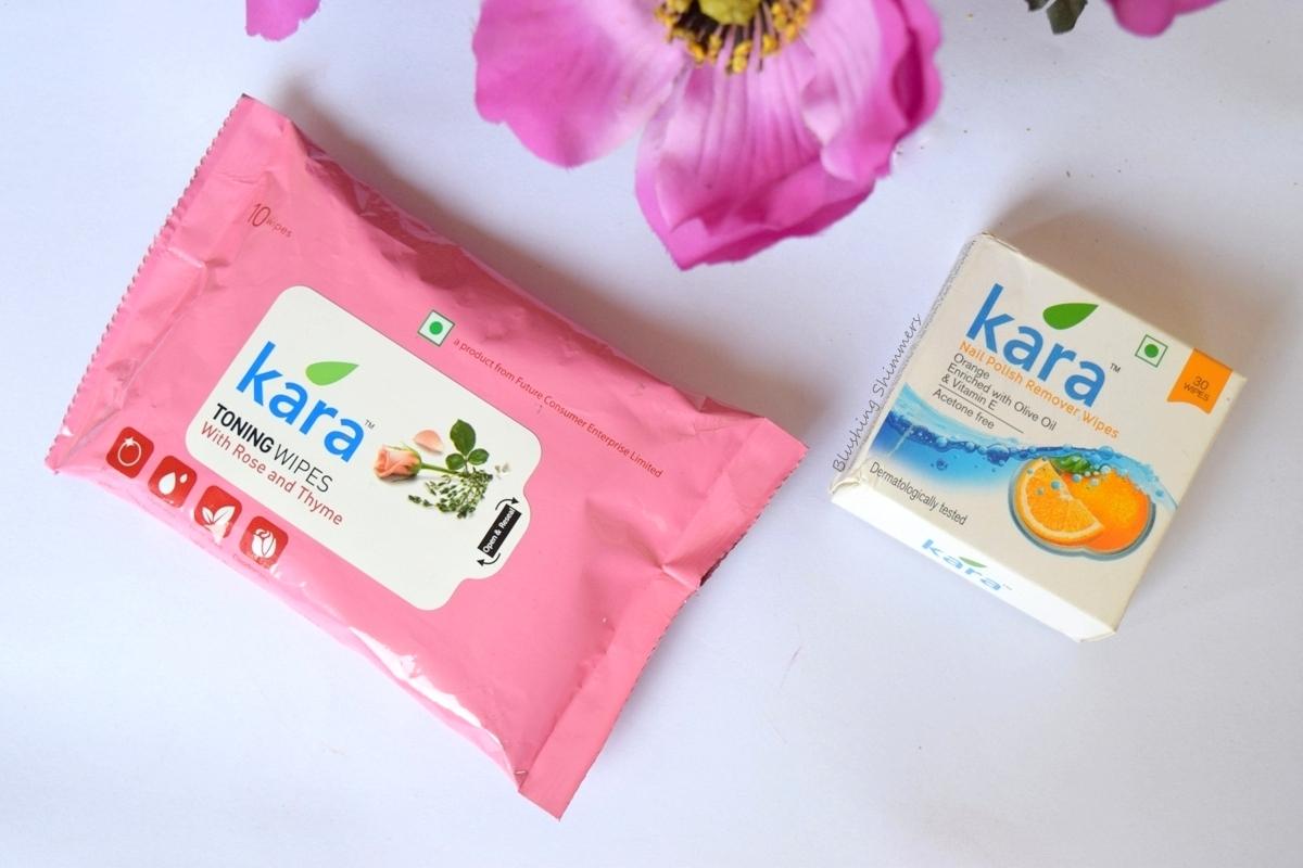 Kara Nail Remover Pads and Face Toner