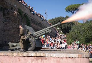 Il Gianicolo di Garibaldi e lo sparo del cannone di mezzogiorno - Visita guidata per bambini Roma