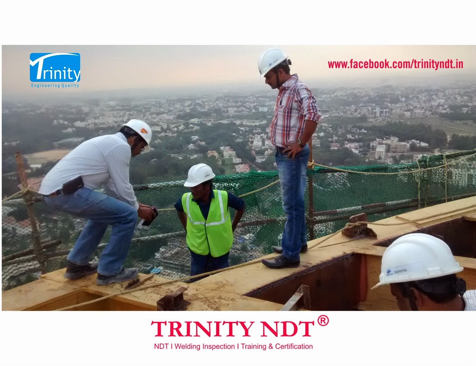 Trinity NDT Inspection of Helipad Structure