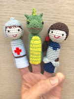 finger puppets amigurumi crochet