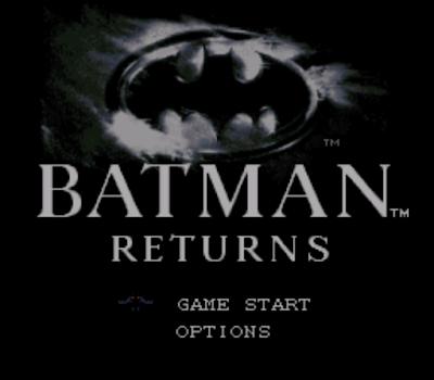 【SFC】蝙蝠俠:歸來原版+Hack修改版,流暢的電影改編ACT動作遊戲!