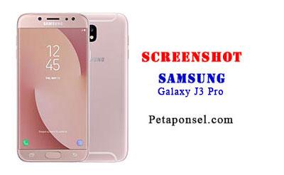 Cara Mengambil Screenshot Samsung J3 Pro