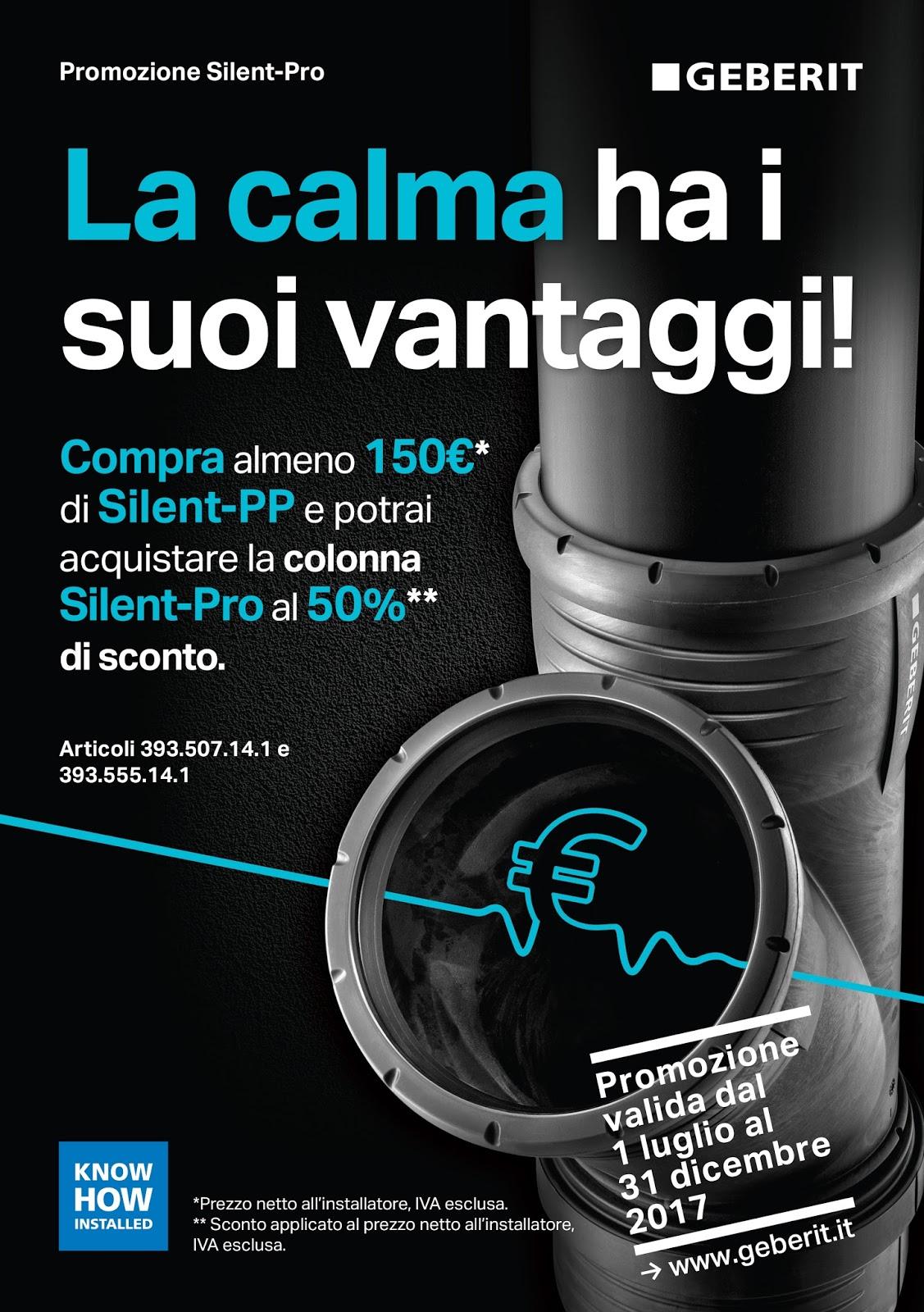 Isolamento Acustico Scarichi Bagno promozione geberit silent-pro   zulli home design