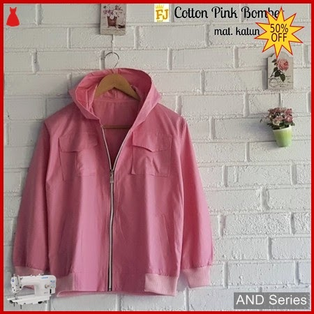 AND363 Jaket Wanita Jacket Cotton Bomber BMGShop
