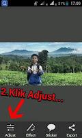 Edit foto background blur