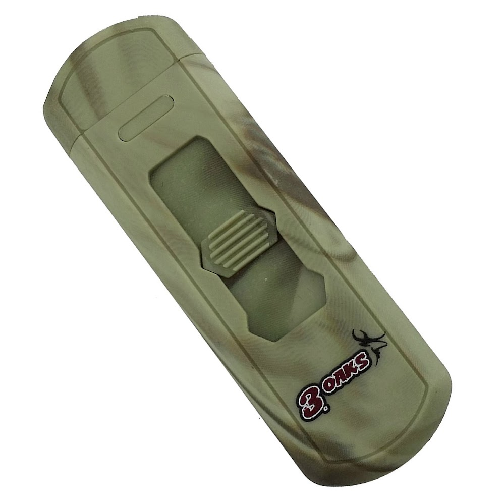 3oaks Survival Series- Windproof USB Rechargeable No Flame Camouflage Lighter