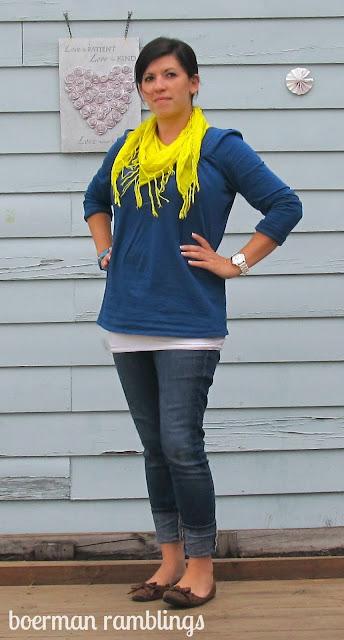 WIWW neon scarf