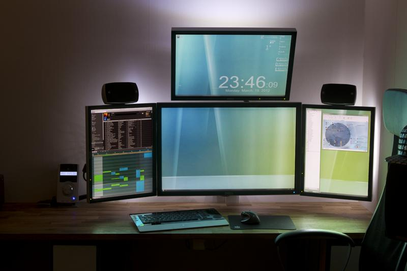3 monitore an pc