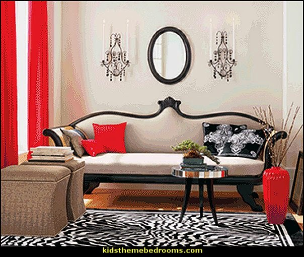 Decorating theme bedrooms maries manor moulin rouge for Boudoir bedroom ideas decorating