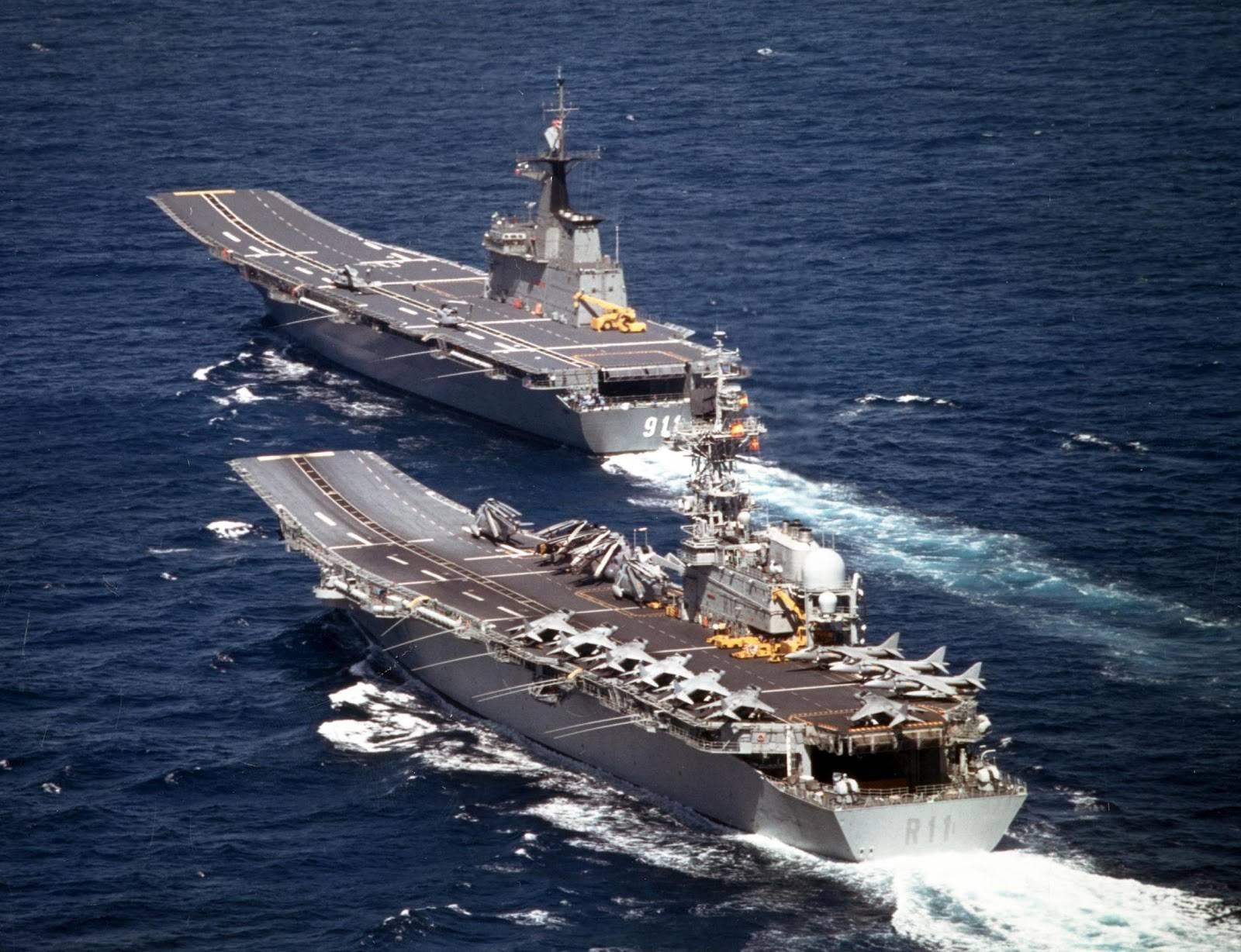 Seriously, the Principe de Asturias for the Philippine ...Spanish Aircraft Carrier Principe De Asturias