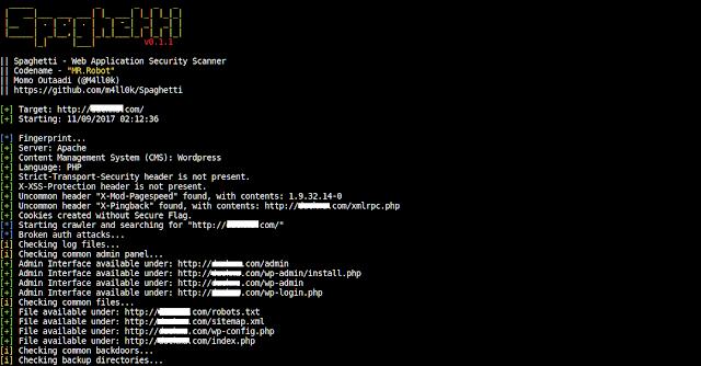 Url Vulnerability Scanner