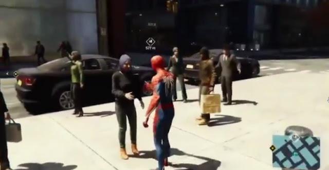 فتاة مسلمة في لعبة Spider-Man ترفض إحتضان شخصية سبايدرمان ، شاهد الفيديو من هنا ..