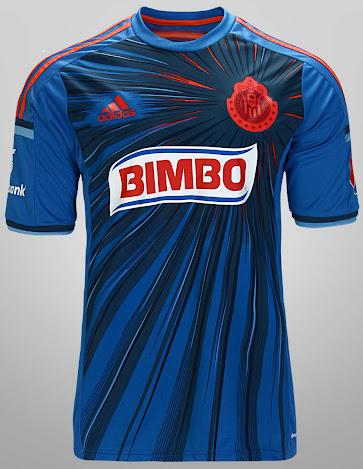 reputable site f8a50 b993f Adidas Chivas Guadalajara 2014 Third Kit Released - cheap ...