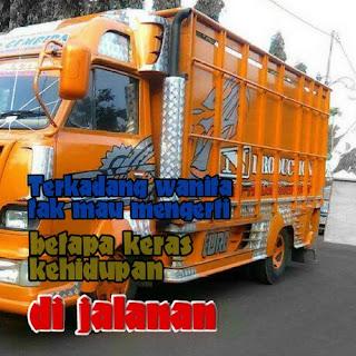 kata bijak kehidupan supir truk