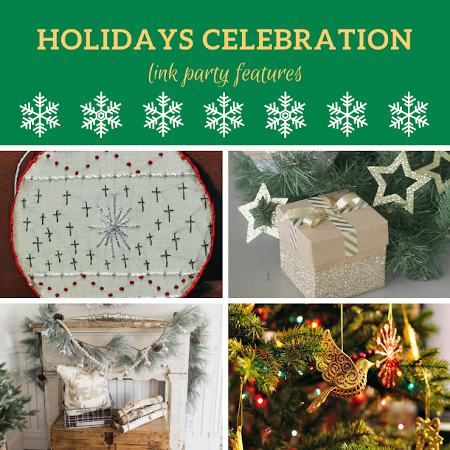 Holidays Celebration Link Party #3 - the features