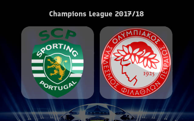 Sporting CP vs Olympiacos Full Match & Highlights 22 November 2017