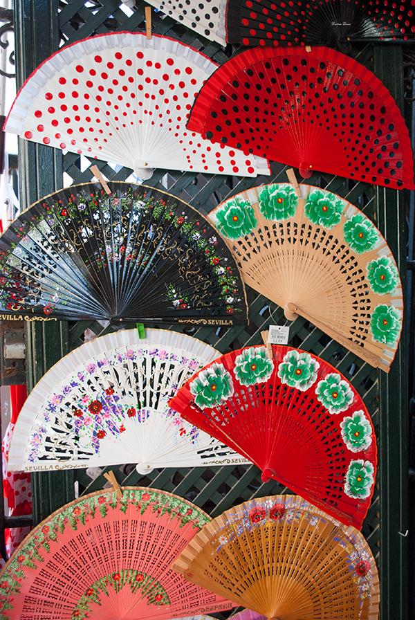 spanish fan abanico buy seville tienda sevilla españa