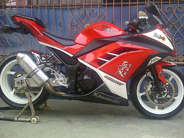 Pernak pernik motor Ninja 250cc
