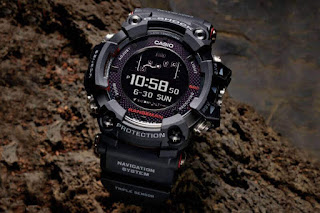 Casio's sun based fueled GPS watch is perfect for survivalists
