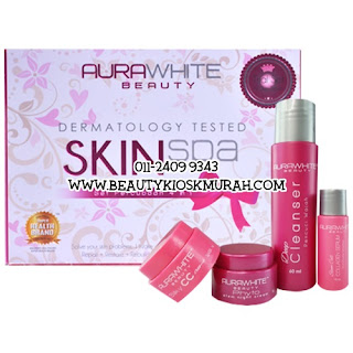 Aurawhite Trial Set Skin Spa