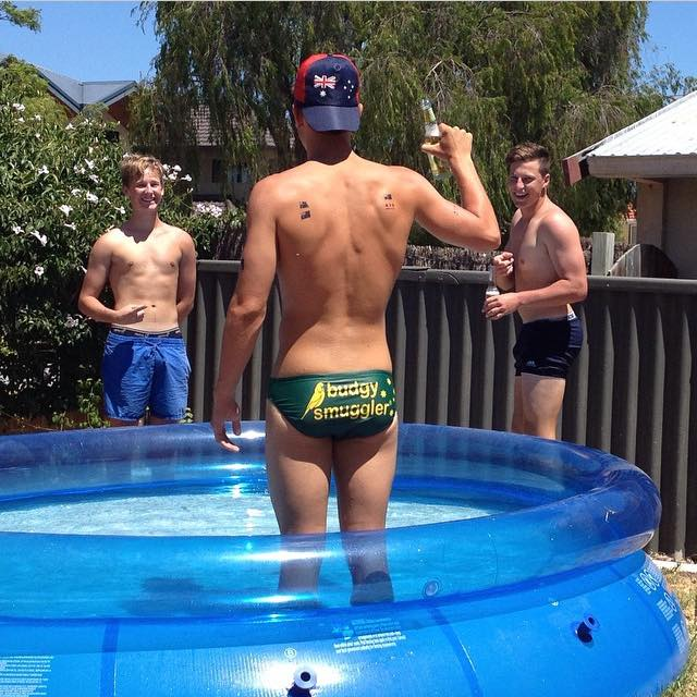 Speedo Musings Pool Party