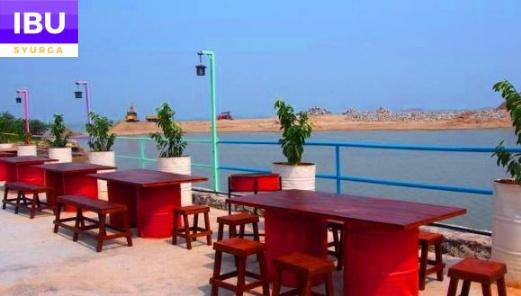 Mabohai Resort Klebang Melaka lepak tepi pantai