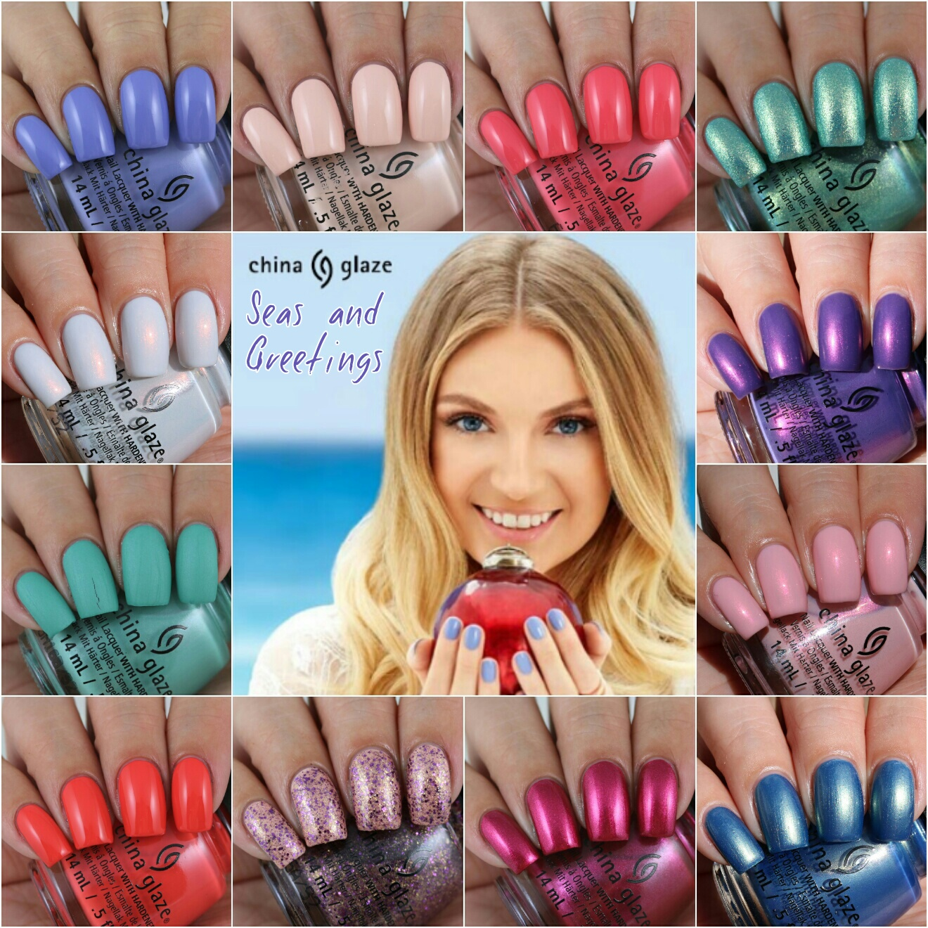 Olivia jade nails china glaze seas and greetings collection eat m4hsunfo