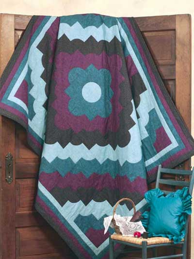 Drunkard's Path Quilt Free Pattern