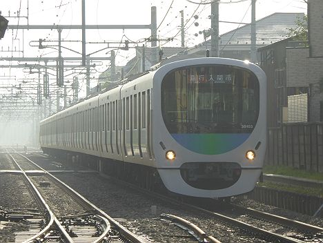 西武池袋線 急行 入間市行き3 30000系(2016入間航空祭臨時列車)