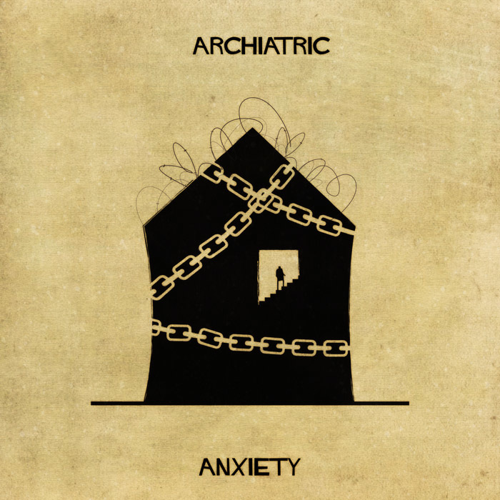 16 Mental Disorders Illustrated Through Architecture - Anxiety