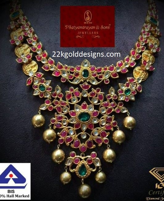Traditional Ruby Necklace with Kasulu