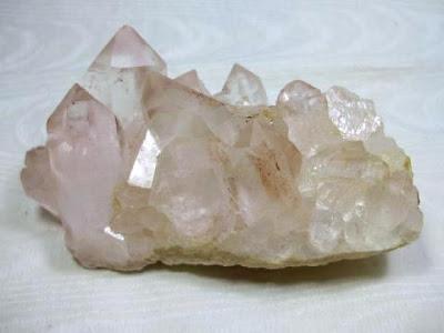 ヒマラヤ水晶クラスター バジル鉱山産 260g