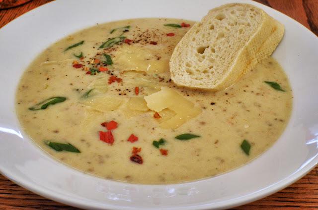 soupe à la Crème et pommes de terre