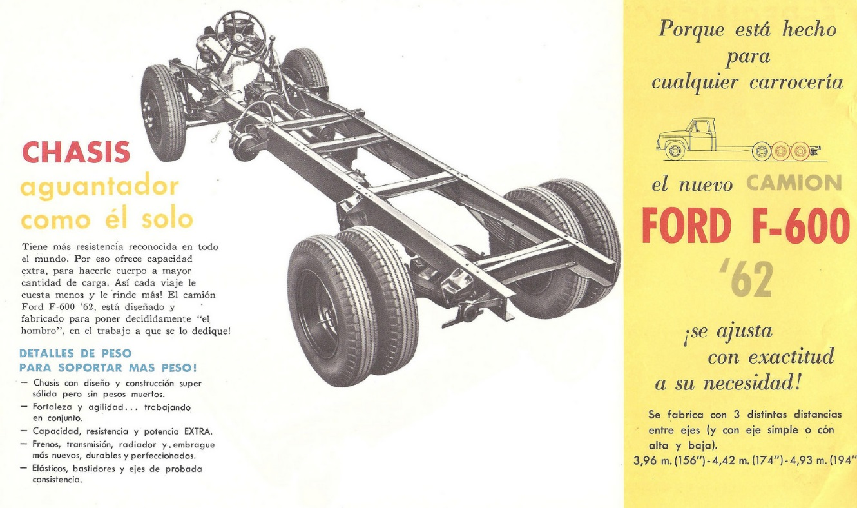 Camión Argentino: Ford F-600 (1961-1967).