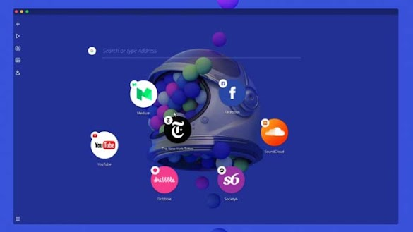 Opera Neon Browser Masa Depan