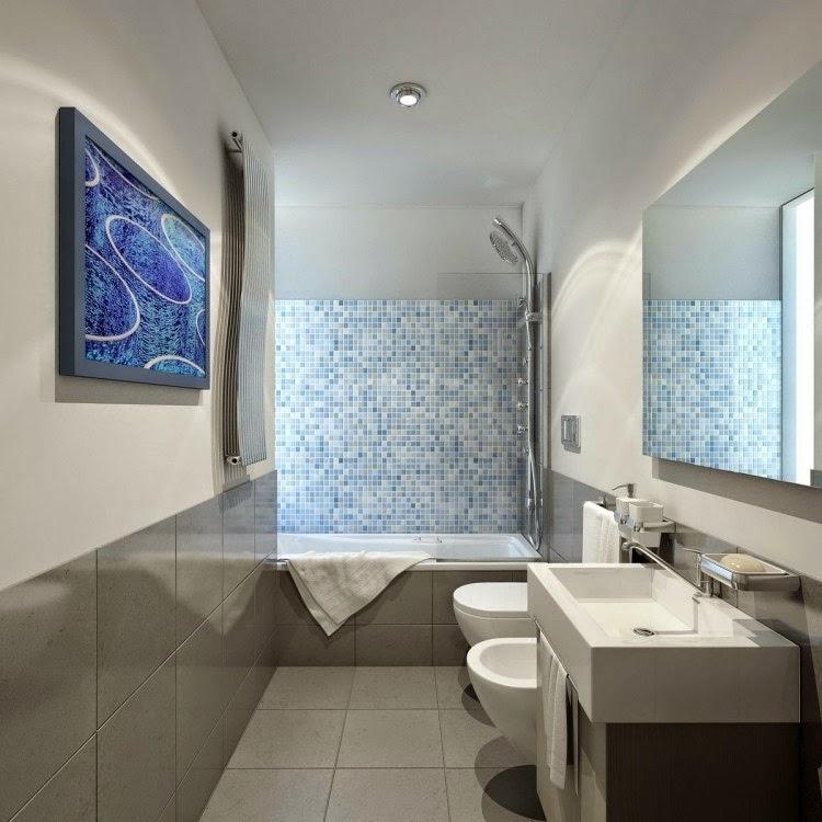 pequeño baño moderno