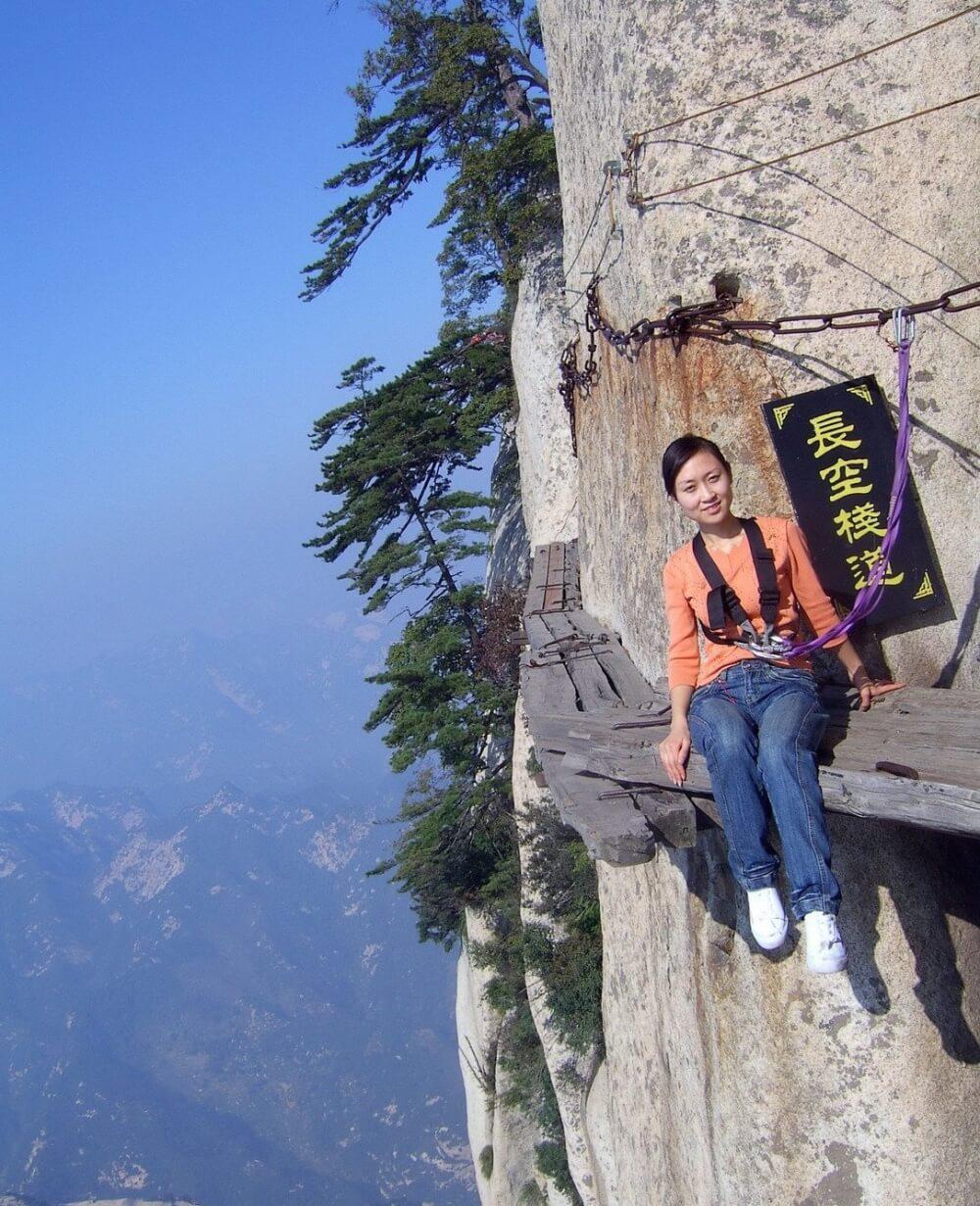 مسار الموت (الطول: 2،130 متر)، الصين
