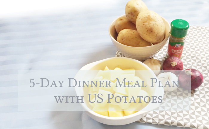 5-Day Dinner Meal Plan with US Potatoes