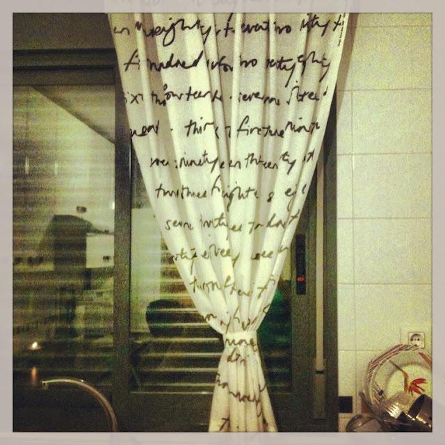 Cortinas hechas a mano: Britten Nummer