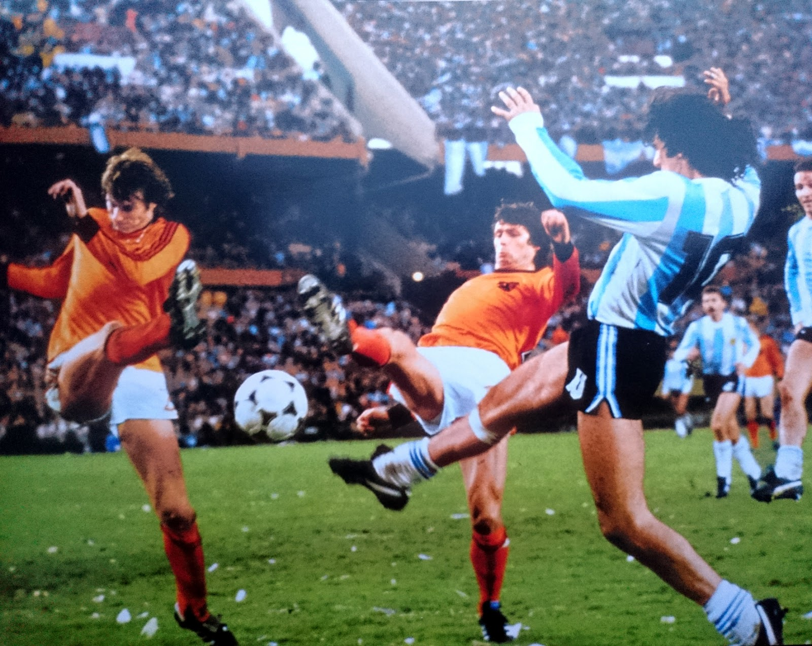 Argentina 78 la finale argentine pays bas the vintage - Finale coupe du monde 1978 ...