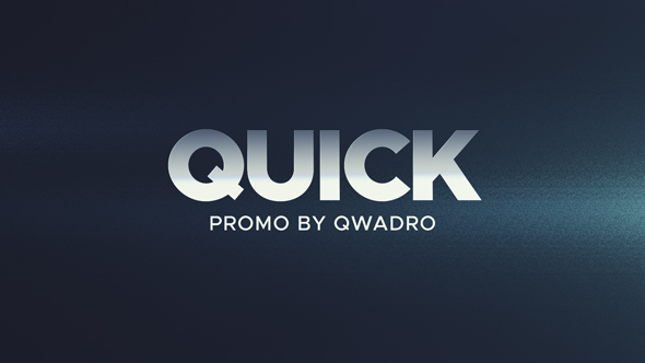 Quick Promo Videohive – Free Download After Effects Templates