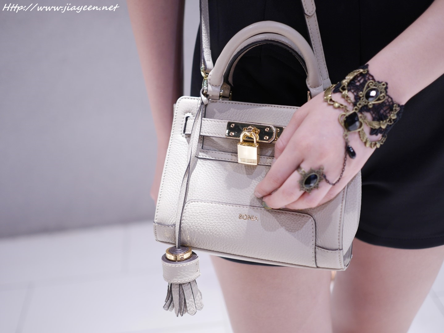Beige Colour And The Lock Design Will Never Go Out Of Style