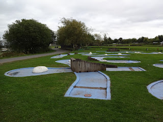 Crazy Golf at Chasewater Country Park