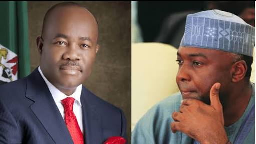 Akpabio Reveals What Saraki, Others Did Against Buhari Govt.