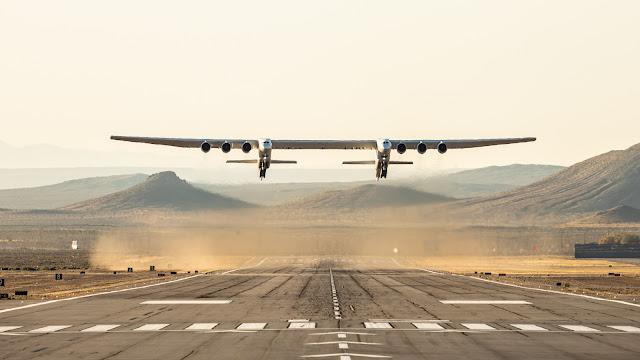 Stratolaunch ilk uçuş. - 13 Nisan 2019