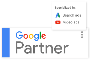 Google Partner specializations