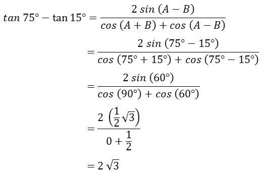 Kumpulan Materi Pelajaran Dan Contoh Soal 10 Contoh Soal Hots Jumlah Dan Selisih Dua Sudut