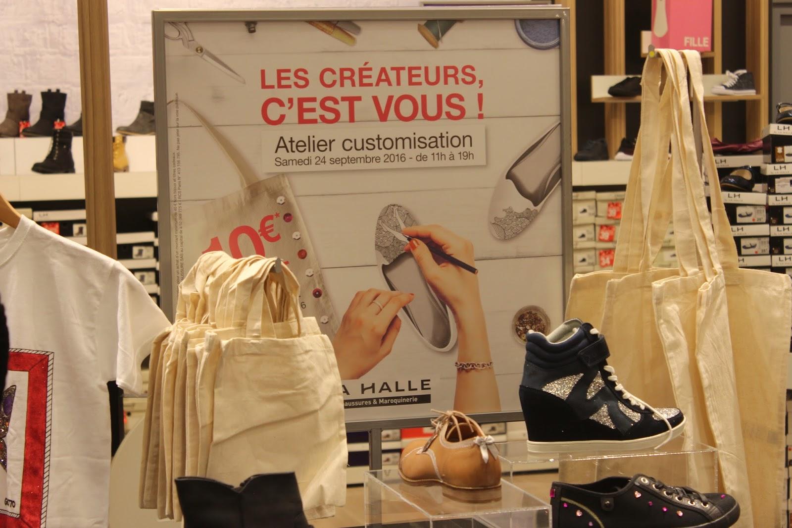 c69826860495ed La Halle a toujours été une enseigne que j'ai fréquenté assidûment, autant  pour ses vêtements, que pour ses chaussures à prix canons!