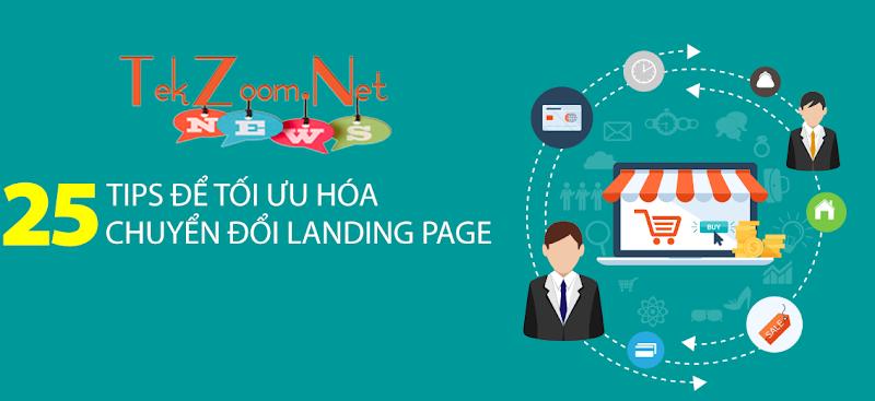25 tips tối ưu hóa chuyển đổi landing page tiếp thị liên kết hiệu quả