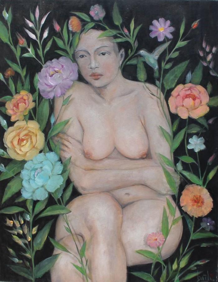 Вьетнамский художник. Bach Nguyen